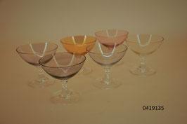6 Liqueur- / Schnapsgläser Kristall