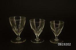 8 Kristallgläser gross + 2 mittlere und 2 kleine gratis