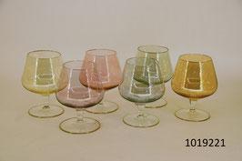 6 Cognac-/Liqueurgläser