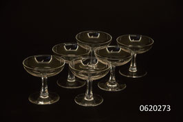 6 Schnaps-/Liqueurgläser Kristall (0620273)