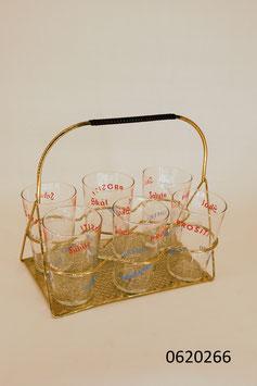 6 Trinkgläser im Ständer (0620266)