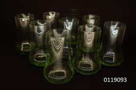 """9 Trinkgläser """"Sarner Glas"""""""