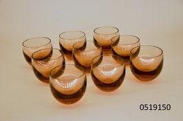 """9 Brandy- / Whiskeygläser """"Moser"""""""