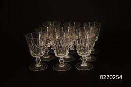 9er Set Weissweingläser Kristall (0220254)