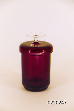 "Glasdose ""Gral Glas"" mit Deckel (0220247)"