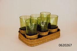 6 Gläser mit Krug (0620267)