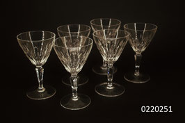 6 Weingläser Kristall (0220251)