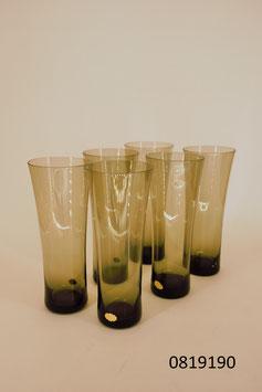 6 Gläser Kristall Polen