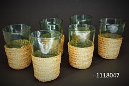 """6 Gläser im """"Körbli"""""""