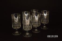 6 Weissweingläser Kristall geschliffen (0819199)