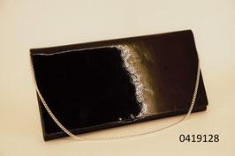 Clutch Lackleder mit Spiegel und Kette (0419128)