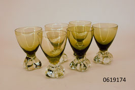 6 Gläser Kristall (0619174)