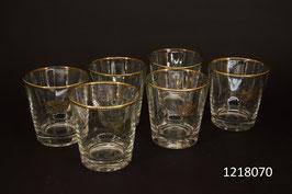6 Whiskey Gläser