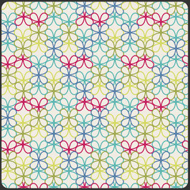 Modernology, Posh Florets Bright, Pat Brown, Art Gallery Fabrics 12952050711