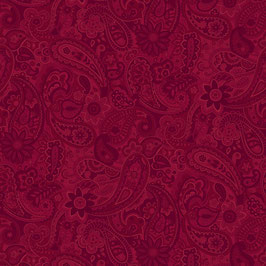 Red Paisley, Bella Suede, P&B 011627501020