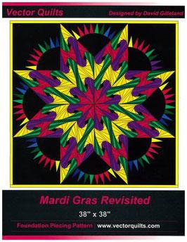 Mardi Gras Revisited von Vector Quilts by David Gilleland