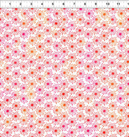 Blümchen, rot, Unusual Garden, In The Beginning Fabrics 12267950819