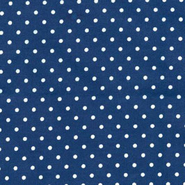 Navy Dot Flannel , Cozy Cotton, Robert Kaufman 11160050719