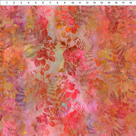 Blätter und Blüten, Rottöne, Garden of Dreams by Jason Yenter for In The Beginning Fabrics 06617950819