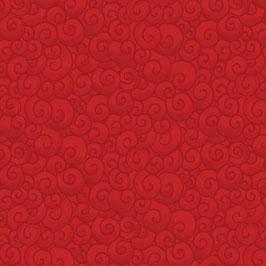 Swirls Scarlet, Benartex, 05236250619