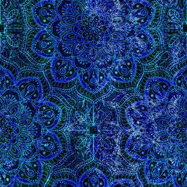 Bluegrass, Floral Rhapsody, Hoffman Fabrics 02285150721