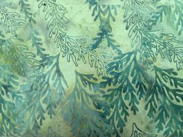 Grüne Ranken auf grün, Batik, Hoffman Fabrics, 05285550212