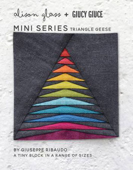 Triangle Geese QUILT PATTERN Mini Series