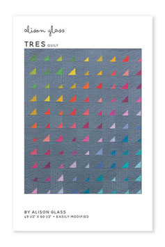 "TRES QUILT PATTERN (49 1/2"" x 60 1/2"")"