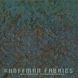 Braun graue Muster auf grauem Grund, Batik, Hoffman Fabrics, 09629850816