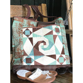 Stormy Beach Bag, Cut Loose Press