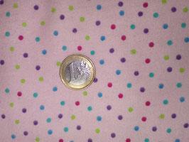 bunte Punkte auf pink, Flannel Multi Dots Pink, Fabri-Quilt, Inc. 10222050714
