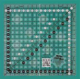 Creative Grids Non Slip 16,5cm x 16,5cm Ruler CGRM165165
