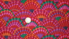 Paper Fans Red, Classics, Kaffe Fassett, Free Spirit 01567150618