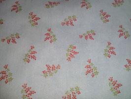 Victoria, Rote Blüten auf blauem Grund, Moda, 03175950818