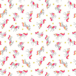 Unicorns on white, Lewis & Irene 06735550818