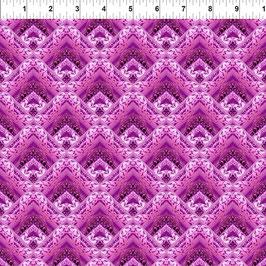 Unicorns, Lace - Magenta 10UN1, In The Beginning Fabrics 05037950821