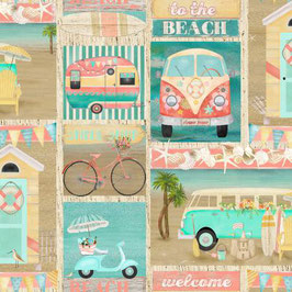 Multi Patch, Beach Travel Collection, Beth Albert, 3 Wishes 03050950521