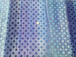 Blaue Ovale auf blauem Farbverlauf, Batik, Anthology Fabrics, 01122550817