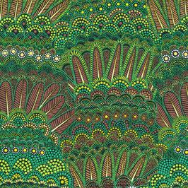 Turkey Feathers, Goanna Walkabout, Paintbrush Studios, 04036750617
