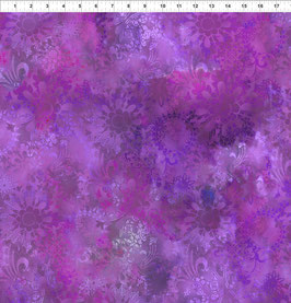 violette Blüten, Diaphanous by Jason Yenter for In The Beginning fabrics 04362650819