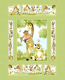Susybee Buddies Quilt Panel, Susybee 10132150518