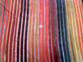 Farbverlauf in Streifenform in braun orange Tönen, Batik, Frowein, 01179550616