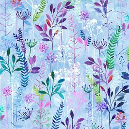 Periwinkle, Spring Song, Hoffman Fabrics 02255150721