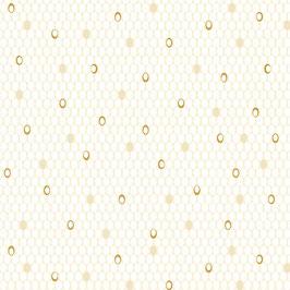 Ovals Cream, Jubilee by Amanda Murphy for Contempo Studio, 12231950818