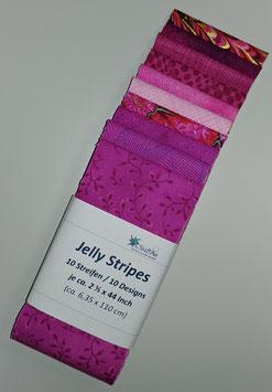 Jelly Stripes, pink, 10 verschiedene Streifen