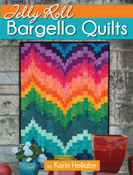 Jelly Roll  Bargello Quilts, by Karin Hellaby