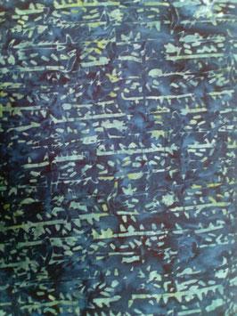 Türkise Streifen auf dunkelblau, Batik, Timeless Treasures, 10201050915