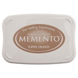 Memento Toffee Crunch, Stempelkissen