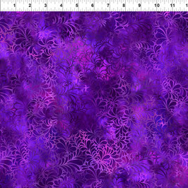 Flourish Purple, 13RJ1, In The Beginning Fabrics 02083550821