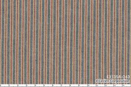 American Country Collection, Blaue und rote Streifen auf hellbrauem Grund, Lecien Corporation, 05425501016